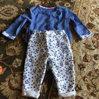 New Mothercare Jacket & Pants
