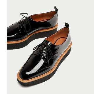 Zara Platform Derby Shoes