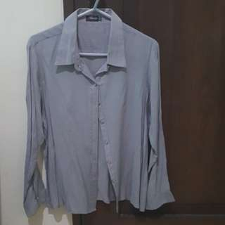 Gray Long Sleeves by Attitudes Size XL