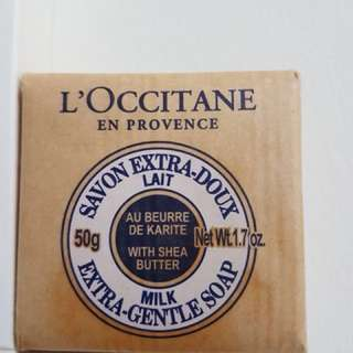 L'occitane 50g Extra Gentle Soap with Shea Butter