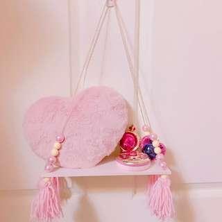 ✨Ins爆款 粉紅少女心收納置物層板 置物架