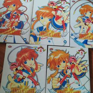 Angelic Layer 1-5 - Complete (CLAMP)