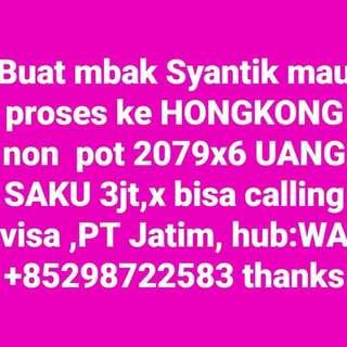 Job ke Hongkong