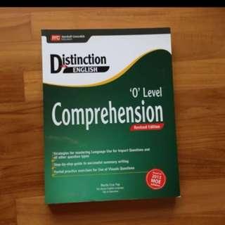 Distinction In English O Level Comprehension