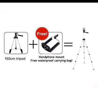 Tripod with Bluetooth controller - 150cm