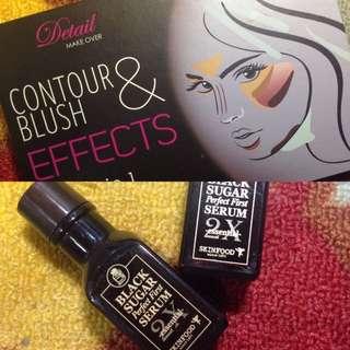 Bundle - Contour Palette and Black Sugaar Serum