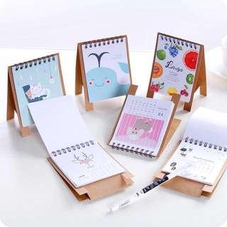 Planner 2018 Small Desk Calendar