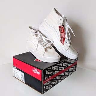 NEW Vans Sk8-Hi Sneakers In White