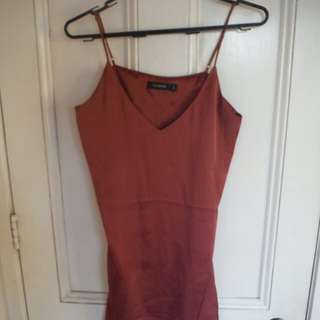S Glassons Pink slip dress