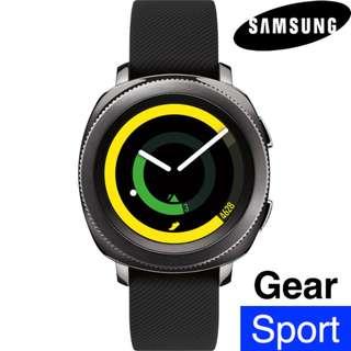 100%全新 三星 Samsung - R600 Gear Sport black SmartWatch 黑色 智能手錶