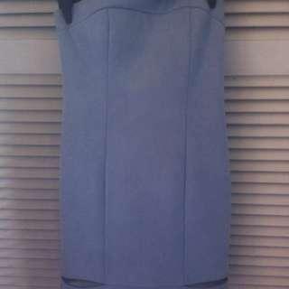 B xrunway Sky blue gorgeous strapless dress