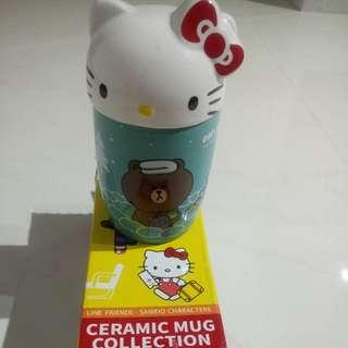7-11 ceramic mug collection-hello kitty
