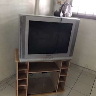 TV with free TV console