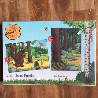 The Gruffalo 2 in 1 Jigsaw Puzzles
