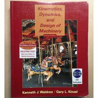 Kinematics, Dynamics, and Design of Machinery 國際版 2版