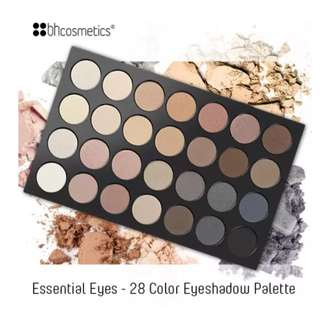 BH Cosmetics  Essential - 28 Color Eyeshadow Palette