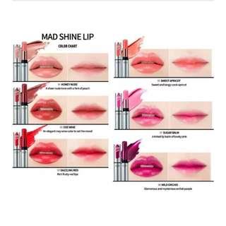 CLIO Professional  Mad Shine Lip