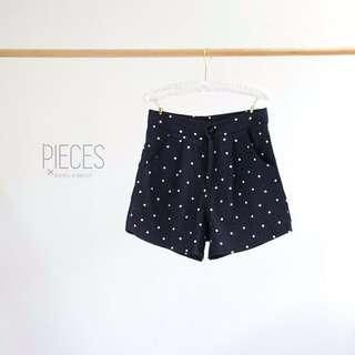 Brand New Korean Style Polka Dot Print Short