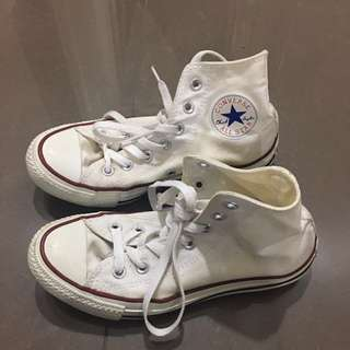 Converse all stars white high top