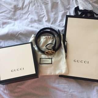 Gucci Marmont belt (90cm)
