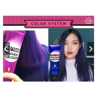 ETUDE HOUSE TWO TONE HAIR TREATMENT COLOR