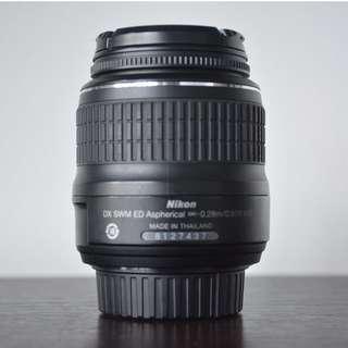 Nikon Lens 18-55 mm