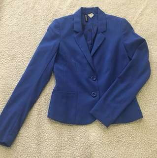 H&M Royal Blue Blazer