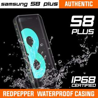 SAMSUNG S8 PLUS REDPEPPER WATERPROOF CASING. READY STOCK!