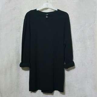 H&m longsleeve black dress