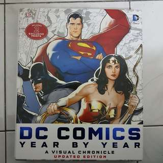 DC Comics A Visual Chronicle Year By Year