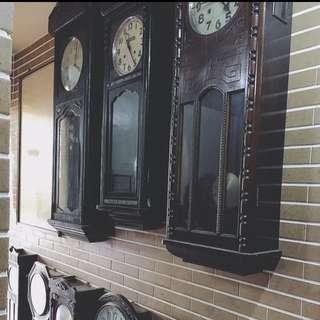 👨🏻💼二手古董鐘,品項豐富~歡迎收藏!