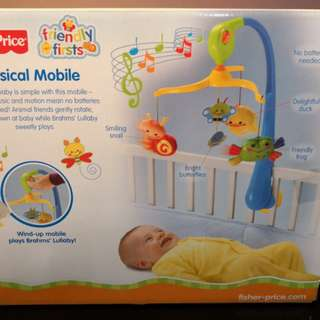 Fisher Price Baby Musical Mobile