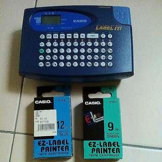 Casio EZ Label Printer