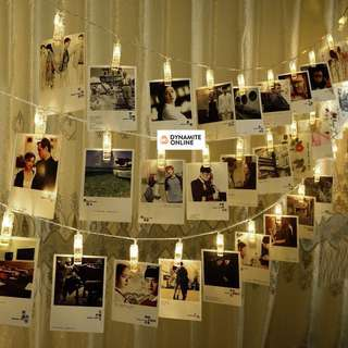 💥Hot Item💥 Korean LED Photo Clips String Light Deco