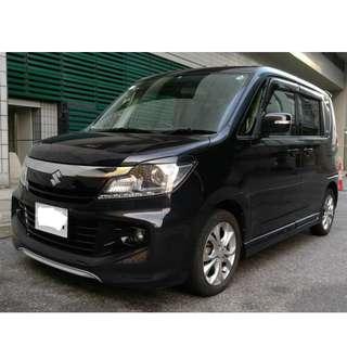 Suzuki Solio Bandit 2012 Metallic Black 鑽石大盜