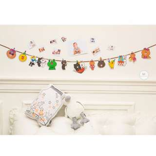 LINE Party Banner Birthday Decoration