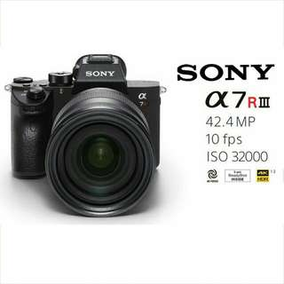 New Release! Free Delivery! Sony A7RIII (Body) With Freebies Included!
