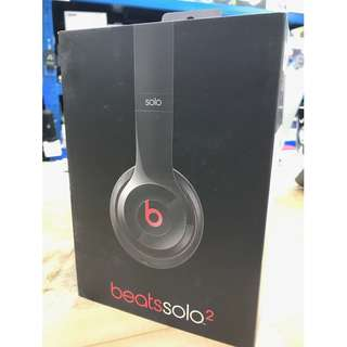 Beats by Dr.Dre Solo2 Black 95% NEW