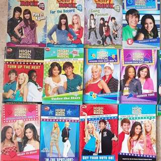 High School Musical & Camp Rock Book Collection