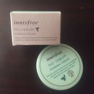 Innisfree (no-sebum, powder cream)