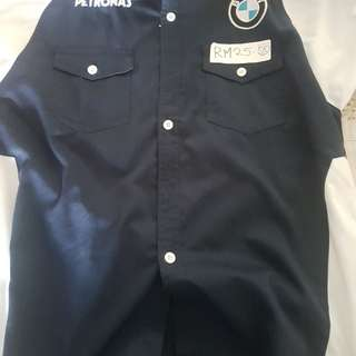 Petronas BMW Work Shirt 2XL