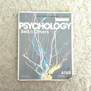 PSYCHOLOGY SELF & OTHERS YEAR 11 & 12 TEXTBOOK