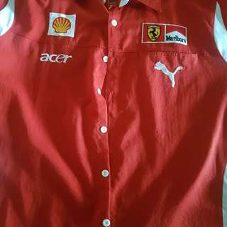 XXL Ferrari Work Shirt