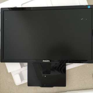 "Philips Ultra Slim LED Display Monitor 23"" (SPECIAL to CLEAR@$90.00)"