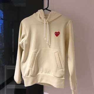 PLAY CDG sweater size M