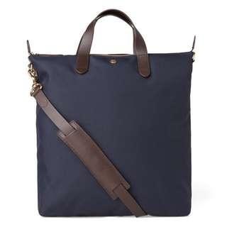 Mismo M/S Shopper - Navy / Dark Brown tote bag