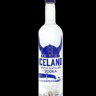 Iceland vodka / murah / gembira / 700ml / 3x distilasi