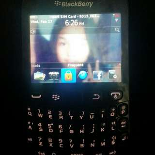 BLACKBERRY 9220 Black unit only