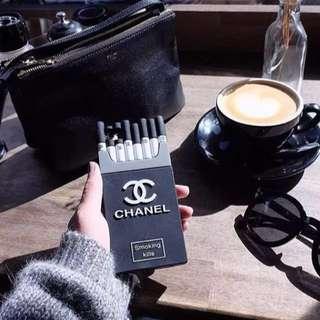 Chanel Smoking Kills Cigarette Phone Case - iPhone 8/iPhone 8 Plus