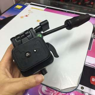Pan head for tripod or monopod